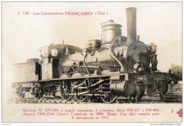 LES LOCOMOTIVES FRANCAISES C 130  ( LOT V4) - Eisenbahnen