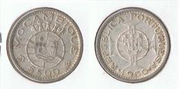 MOZANBIQUE 5 ESCUDO 1960 PLATA SILVER G1 - Mozambique