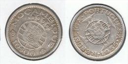 MOZANBIQUE 10 ESCUDO 1955 PLATA SILVER G1 - Mozambique