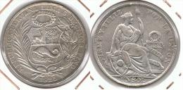 PERU SOL 1925 PLATA SILVER G2 - Perú