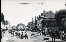 45, COURTENAY, RUE DE VILLENEUVE - Courtenay