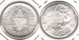 VATICANO 500 LIRA 1975 PABLO VI PLATA SILVER G1 - Vaticano (Ciudad Del)