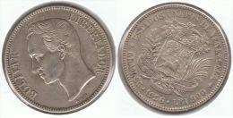 VENEZUELA 5 BOLIVAR 1936 PLATA SILVER G1.png BONITA - Venezuela