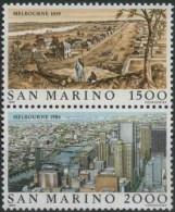 1985 San Marino, Emigrazione , Serie Completa Nuova (**) AL FACCIALE - Neufs