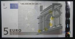 5 EURO E004E1 Netherlands Serie P Perfect UNC - EURO