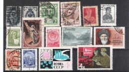 RUSSIE&URSS:mini Collection  De 79 TP  Empire,URSS, Et Poste Aérienne Ttes époques 1889...1992 - Collections