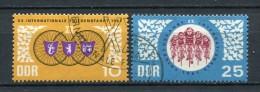 DDR Nr.1278/9         O  Used       (17607) ( Jahr: 1967 ) - DDR