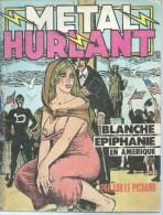 METAL HURLANT N° 40  Couverture PICHARD - Métal Hurlant