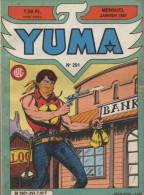 YUMA N° 291 BE LUG AVEC ZAGOR 01-1987 - Yuma