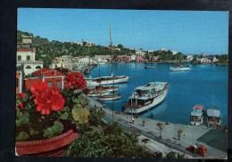D3224 ISOLA DI ISCHIA ( Napoli ) IL PORTO ( PORT, HARBOR ) Con Traghetto, Navi Ship Bateau Sailboat  - Alterocca A 9649 - Autres Villes