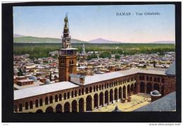 SYRIE-DAMAS -vue Générale-TTB -édition Sarrafian -beirut-années 1910-20 - Siria