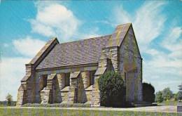Ohio Zanesville This Memorial Shrine Constructed Of Native Stone