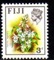 Fiji QEII 1971 3c Flowers Definitive, MNH - Fiji (1970-...)