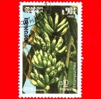 KAMPUCHEA - Cambogia - 1986 - Frutti - Banane - 0.10 - Kampuchea