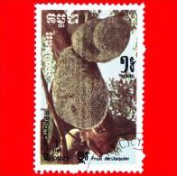 KAMPUCHEA - Cambogia - 1986 - Frutti - Breadfruit (Artocarpus Altilis) - 1 - Kampuchea