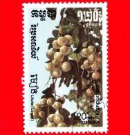 KAMPUCHEA - Cambogia - 1986 - Frutti - Longan - 1.20 - Kampuchea