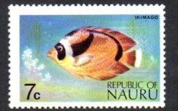 Nauru 1973 7c Fish Definitive, MNH - Nauru