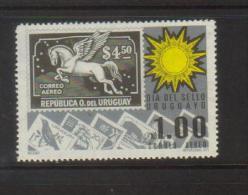 Uruguay 1975 Spanish American Stamp Day Stamp Set.Unmounted Mint. - Uruguay
