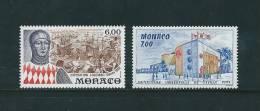 Monaco Timbres De 1992  Neufs**  N°1828/29 Vendu A La Faciale - Monaco