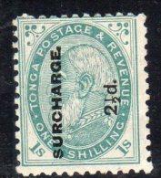 TONGA - N° 24  Nsg   (1894-5) - Tonga (...-1970)
