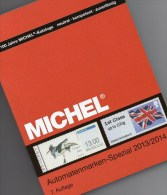 Michel Automatenmarken Katalog 2013/2014 Neu 64€ All World A AU B D DK F UK N P CH RO NO Brazil SF Eire C IS LUX E TK GR - Creative Hobbies