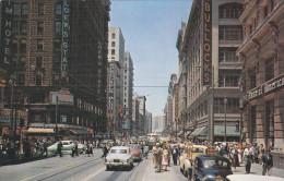 Seventh & Broadway . LOS ANGELES , California , 50-60s