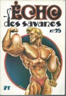 L´ECHO DES SAVANES  N° 25   Couverture   SOLE - L'Echo Des Savanes