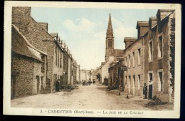 Cpa Du 56 Carentoir -- La Rue De La Gacilly     AA5 - Zonder Classificatie