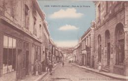 VIBRAYE RUE DE LA RIVIERE - Vibraye