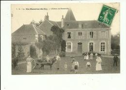 Sainte Honorine Du Fay Château De Bretteville ( Attelage D'âne ) - Non Classés