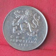 CZECH REPUBLIC  5  KORUM  1993   KM# 8  -    (Nº12162) - Tchéquie