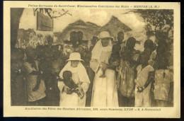 Cpa De Côte D' Ivoire -- Sinématiali -- Petites Servantes Du Sacré Coeur Menton --     AA6 - Côte-d'Ivoire