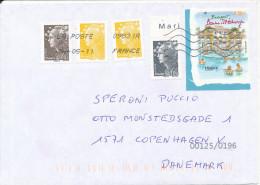 France Cover Sent To Denmark 4-5-2011 - France