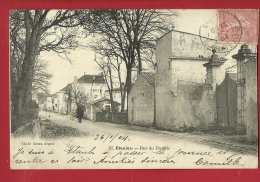 XBR-09 Etaules. Rue Du Temple, ANIME. . Précurseur . Cachet Frontal 1904 - France