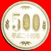 ★PAWLOWNIA FLOWER: JAPAN★ 500 YEN 24 YEAR HEISEI (2012)! LOW START★NO RESERVE! - Giappone