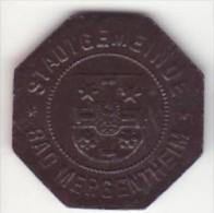 Allemagne - Notgeld - Monnaie De Nécessité - Mergentheim - 50 Pf - Monétaires/De Nécessité
