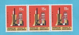 AFRIQUE DU SUD N° 288  X 3 NEUFS (YT) 2 TIMBRES ** ET 1 TIMBRE*   INDUSTRIE VALEUR 21,00 EUROS - Afrique Du Sud (1961-...)