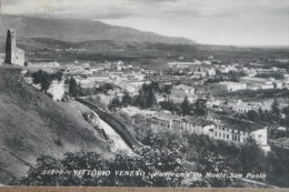 VITTORIO VENETO -PANORAMA DA MONTE SAN PAOLO -1934-    F/P  BELLISSIMA - Treviso
