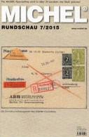 Briefmarken Rundschau MICHEL 7/2015 Neu 6€ New Stamp Of The World Catalogue And Magacine Of Germany ISBN 9 783954 025503 - Numismatik