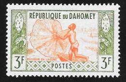 DAHOMEY - Scott #143 Fisherman / Mint H Stamp - Benin – Dahomey (1960-...)