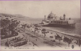 06  °°  Nice   :-   Le  Palais  De  La  Jetée   ***   T.B.E    écrite :  10  Janvier  1916  -  9x14 - Monumentos, Edificios