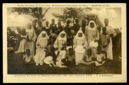 Cpa De Côte D´ Ivoire -- Sinématiali -- Petites Servantes Du Sacré Coeur Menton --     AA7 - Ivory Coast