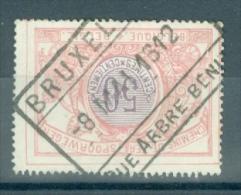 "BELGIE - OBP Nr TR 35 - Cachet ""BRUXELLES - RUE ARBRE BÉNIT"" - (ref. VL-8219) - 1895-1913"