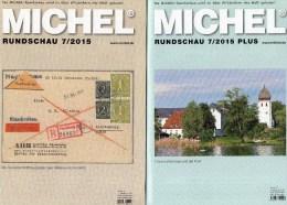 Briefmarken Rundschau MICHEL 7/2015 Sowie 7/2015-plus Neu 11€ New Stamps Of The World Catalogue And Magacine Of Germany - Münzen & Banknoten
