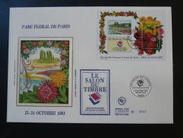 FDC Bloc Parc Floral 1994 Salon Du Timbre 1994 - 1990-1999