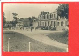 PHOTO ORIGINALE Animée La Devanture Du Chateau - Anciennes (Av. 1900)