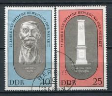 DDR Nr.1489/90        O  Used       (17712) ( Jahr: 1969 ) - Gebruikt