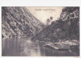 Tarcento, Laghetto Di Crosis, Barcaiolo - F.p. -  Anni ´1910 - Udine