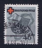 French Occ. Zone Rheinland-Pf / Rhénanie  Mi Nr 45 A Used - Französische Zone