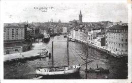 Königsberg V.1917 Hafen Mit 2 Master (3347) - Ostpreussen